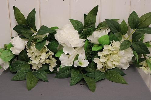 White Arbor Flowers