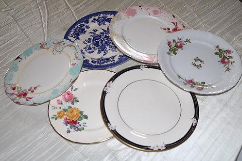 Mismatched China Dish