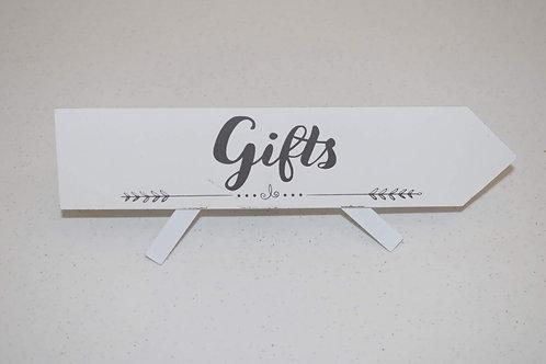 Gift Sign (Arrow)