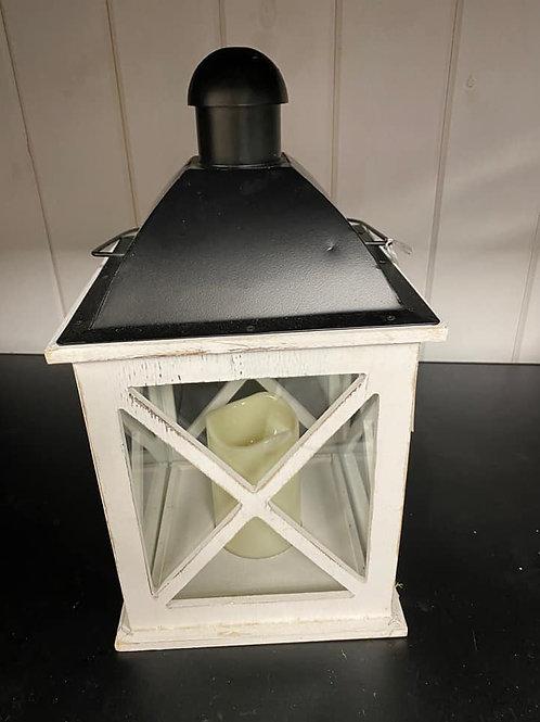 Large White Wooden Lanterns