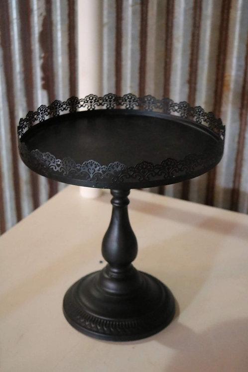 Black Cake/Dessert Stand