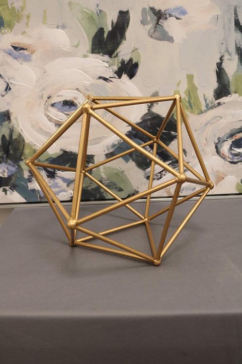 Gold Geometric Shapes