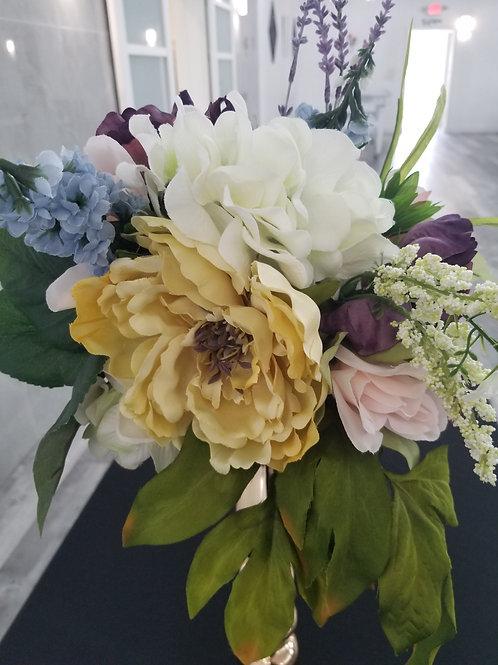 Multi-Colored Floral Bouqet