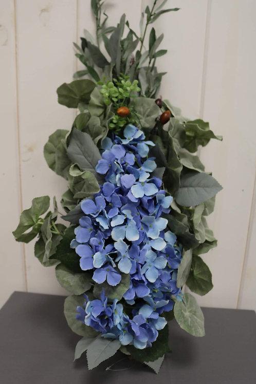 Blue Arbor Flowers
