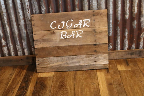 """Cigar Bar"" Sign"