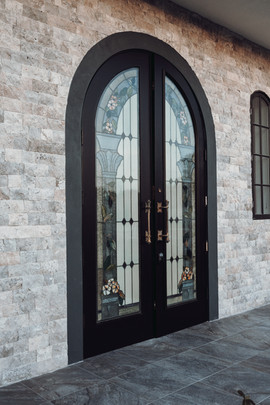 The White Rose Front Doors