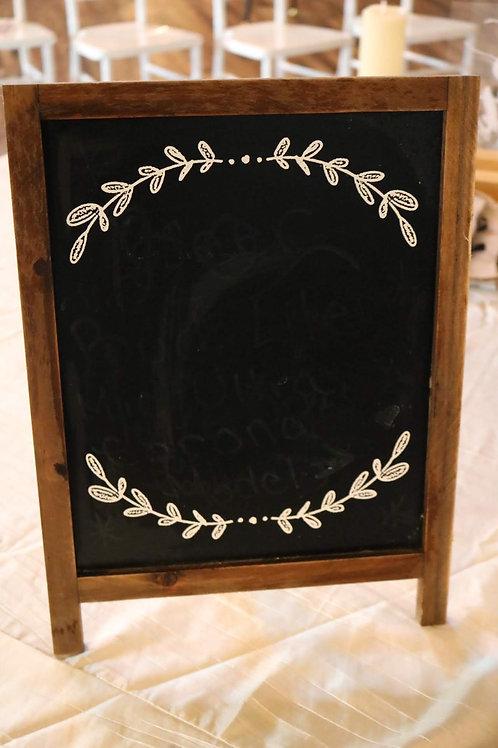 Chalkboard Sign #1