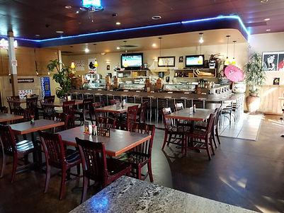 Aloha Sushi Interior