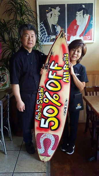 Owners Jeff & Christin Han