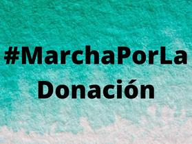 NOSOTROS MARCHAMOS POR LA DONACIÓN DE ÓRGANOS