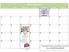 Actividades de diciembre