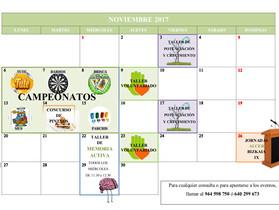 Actividades Noviembre
