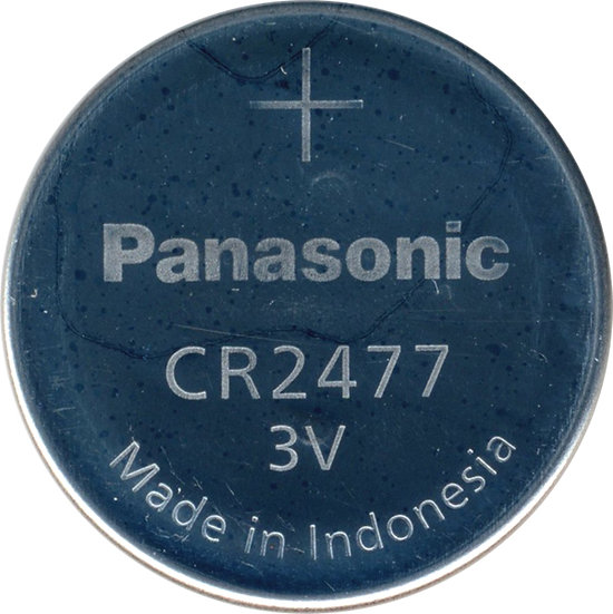 Panasonic CR2477 Lithium coin battery | Ozbatteries