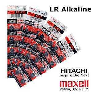 Ozbatteries | Alkaline AG/LR Button Batteries, Maxell, Energizer