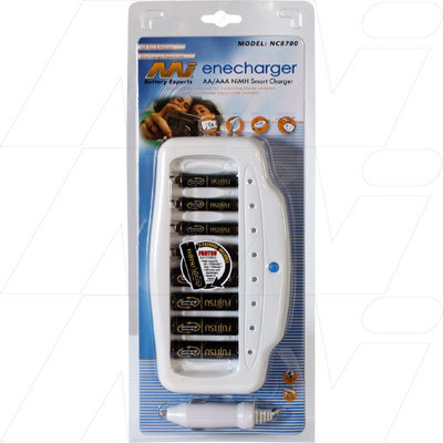 quick charger 1-8 AA, AAA BAtteries