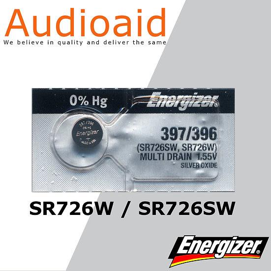 Energizer SR726SW/W SR Batteries Mercury Free