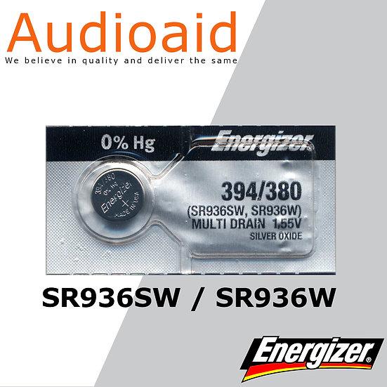 Energizer SR936SW/W SR Batteries Mercury Free