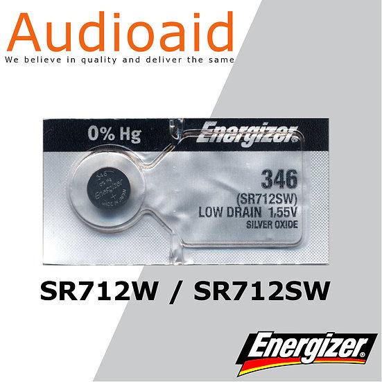 Energizer SR712SW/W SR Batteries Mercury Free