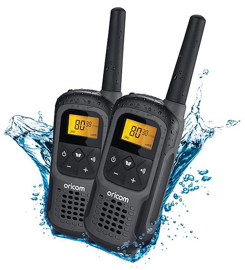 2PC UHF2500 2 watt Waterproof Handheld UHF CB Radios ​
