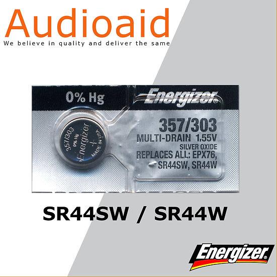 Energizer SR44SW/W SR Batteries Mercury Free