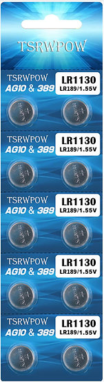 LR1130 / AG10 Alkaline battery