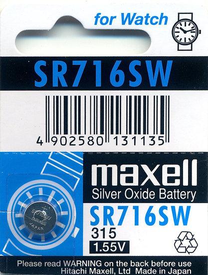 Maxell SR716SW (315)