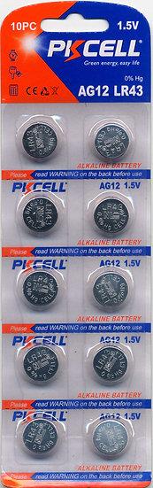 AG12/LR43 Button Battery
