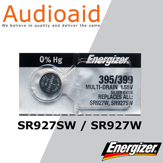 Energizer SR927SW/W SR Batteries Mercury Free