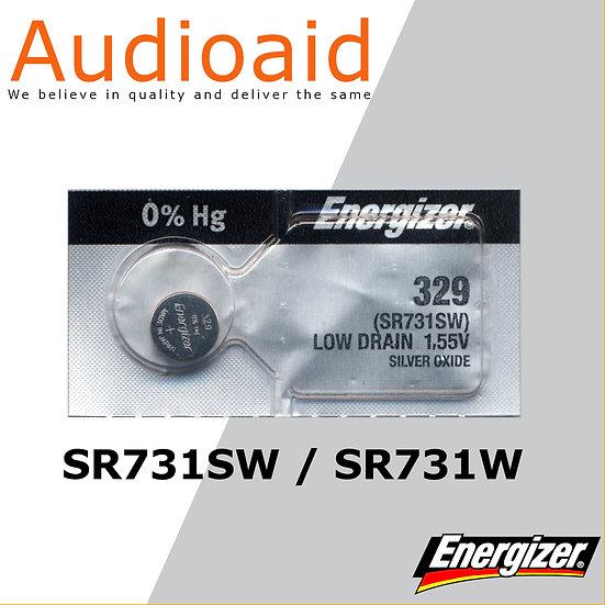 Energizer SR731SW/W SR Batteries Mercury Free