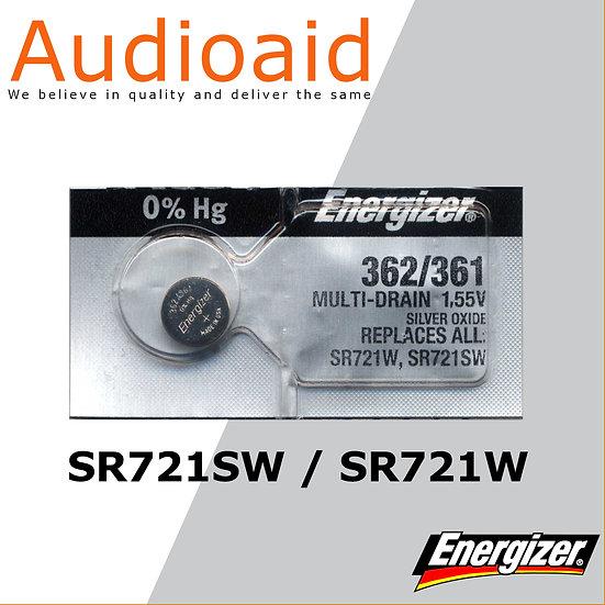 Energizer SR721SW/W SR Batteries Mercury Free