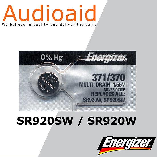 Energizer SR920SW/W SR Batteries Mercury Free