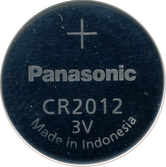 Panasonic 3V CR2012 Lithium coin battery