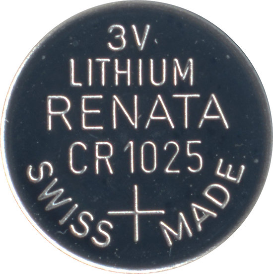 Renata CR1025 Lithium coin battery