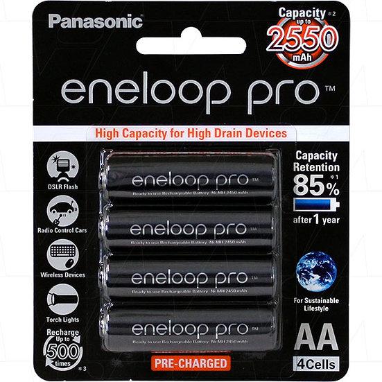 Eneloop Pro rechargeable AA pack