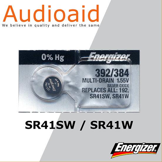 Energizer SR41SW/W SR Batteries Mercury Free