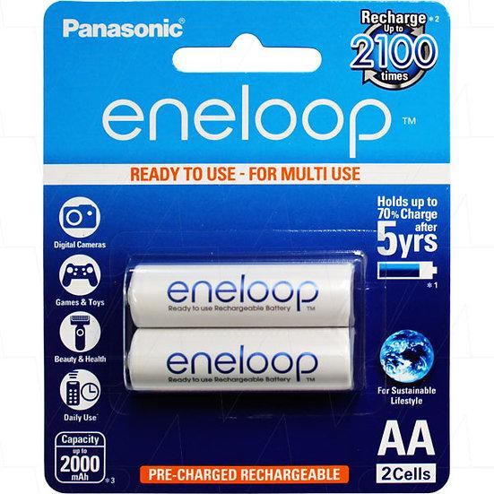 Eneloop rechargeable AA 2pc