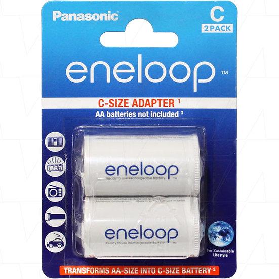 Eneloop C size Adaptors