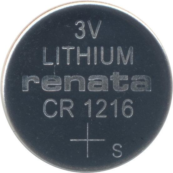 Renata CR1216 Lithium coin battery