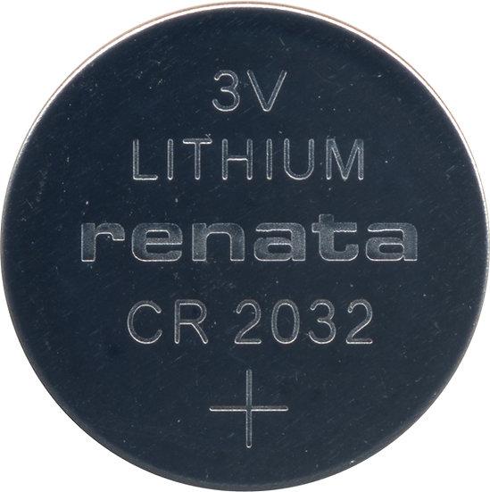 Renata CR2032 Lithium Coin Battery