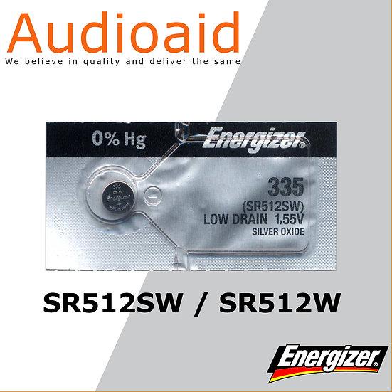 Energizer SR512SW/W SR Batteries Mercury Free