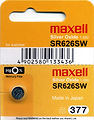Maxell Silver Oxide Watch Batteries
