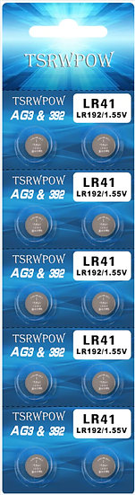 LR41 / AG3 Alkaline batteries