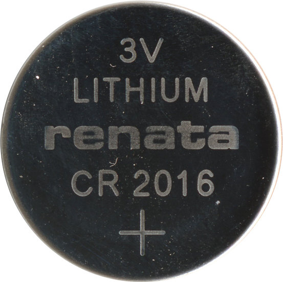 Renata CR2016 Lithium Coin Battery
