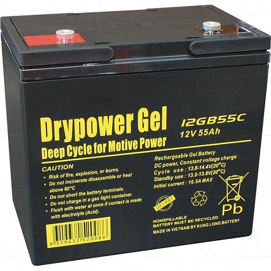 12GB55C 12V 55Ah SLA Battery
