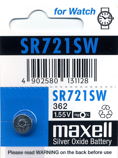 Maxell SR721SW (362)