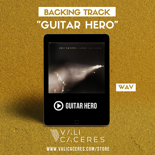 Guitar Hero - Backing Track
