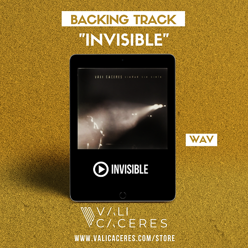 Invisible - Backing track