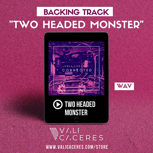 Two Headed Monster - Backing track