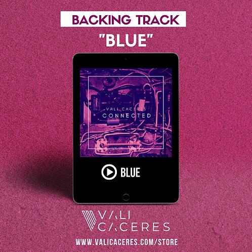Blue - Backing track