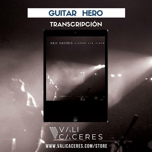 Guitar Hero - Tab